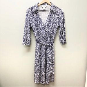 Diane Von Furstenberg Vintage purple wrap dress 6